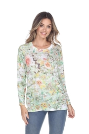 Inoah Garden Burnout Top - Product Mini Image
