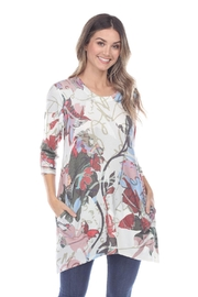 Inoah Mulberry Leaf Tunic - Front cropped