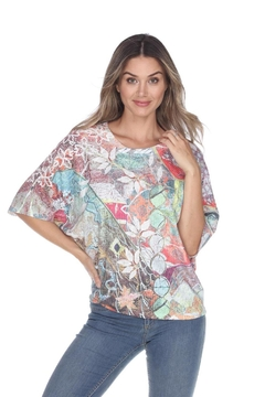 Inoah Spring Boxy Top - Alternate List Image