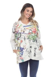 Inoah Village French-Terry Top - Product Mini Image