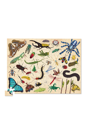 Crocodile Creek Insects 100 Piece Puzzle - Product Mini Image