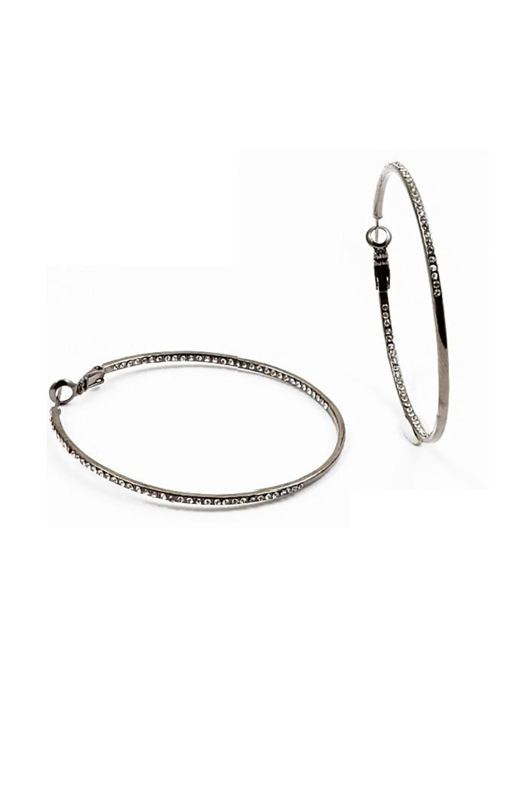 Lets Accessorize Inside Out Hoops - Main Image