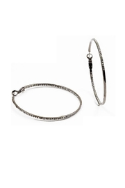 Lets Accessorize Inside Out Hoops - Product Mini Image