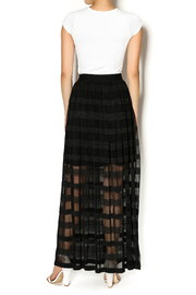 Insight New York Black Maxi Skirt - Side cropped