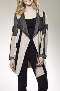 Shoptiques Product: Suede Mesh Coat