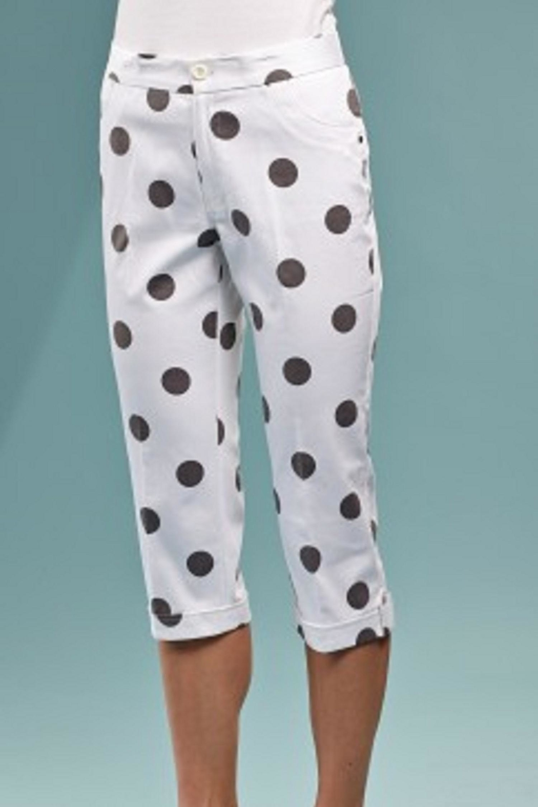 INSIGHT NYC Cropped Dot Pants - Main Image