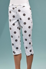 INSIGHT NYC Cropped Dot Pants - Front cropped