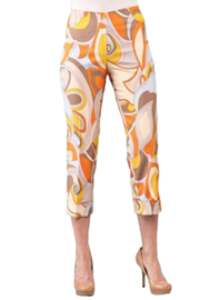 INSIGHT NYC Pucci-Esque Crop Pant - Product Mini Image