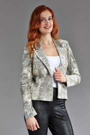INSIGHT NYC Textured Gold Jacket - Product Mini Image