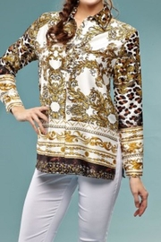 INSIGHT NYC Versace Print Blouse - Product Mini Image