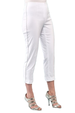 INSIGHT NYC White Crop With Silver Pinstripe - Product List Image