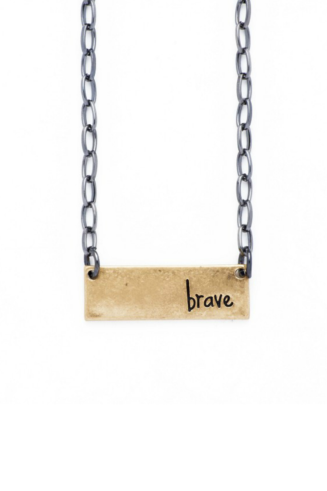 bops Inspirational Bar Necklace - Main Image