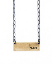 bops Inspirational Bar Necklace - Product Mini Image
