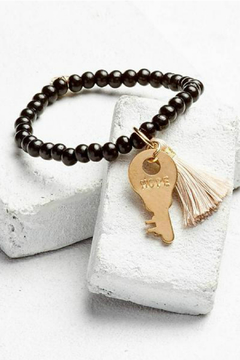 The Giving Keys Inspirational Bead Key/Tassel Bracelet - Product List Image