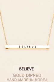 Embellish Inspirational Believe Necklace - Product Mini Image