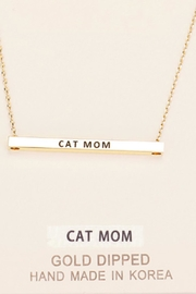 Embellish Inspirational Cat Necklace - Product Mini Image