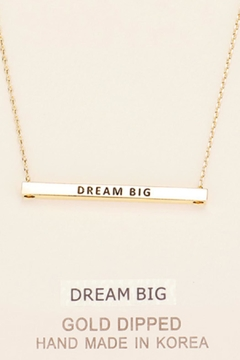 Shoptiques Product: Inspirational Dream Necklace