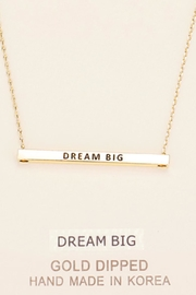Embellish Inspirational Dream Necklace - Product Mini Image