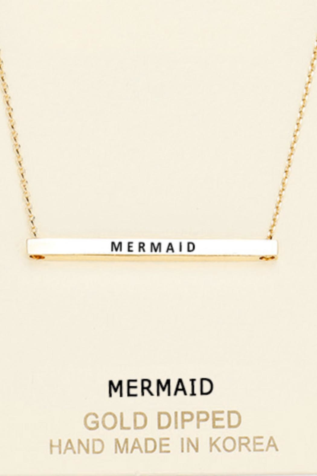 Embellish Inspirational Mermaid Necklace - Main Image