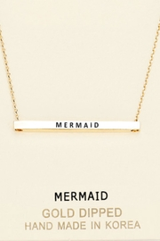 Embellish Inspirational Mermaid Necklace - Front cropped