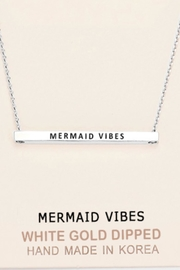 Embellish Inspirational Mermaid-Vibes Necklace - Front cropped