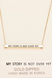 Embellish Inspirational Story Necklace - Product Mini Image
