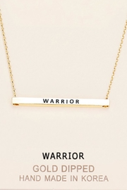 Embellish Inspirational Warrior Necklacce - Product Mini Image