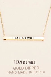 Embellish Inspirational Will Necklace - Product Mini Image