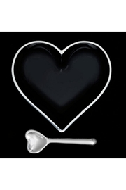 Inspired Generations Black Shiny Heart With Spoon - Product Mini Image