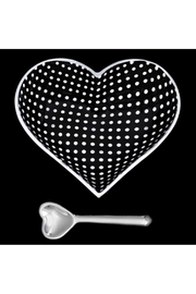 Inspired Generations Black With White Dots Heart With Spoon - Product Mini Image