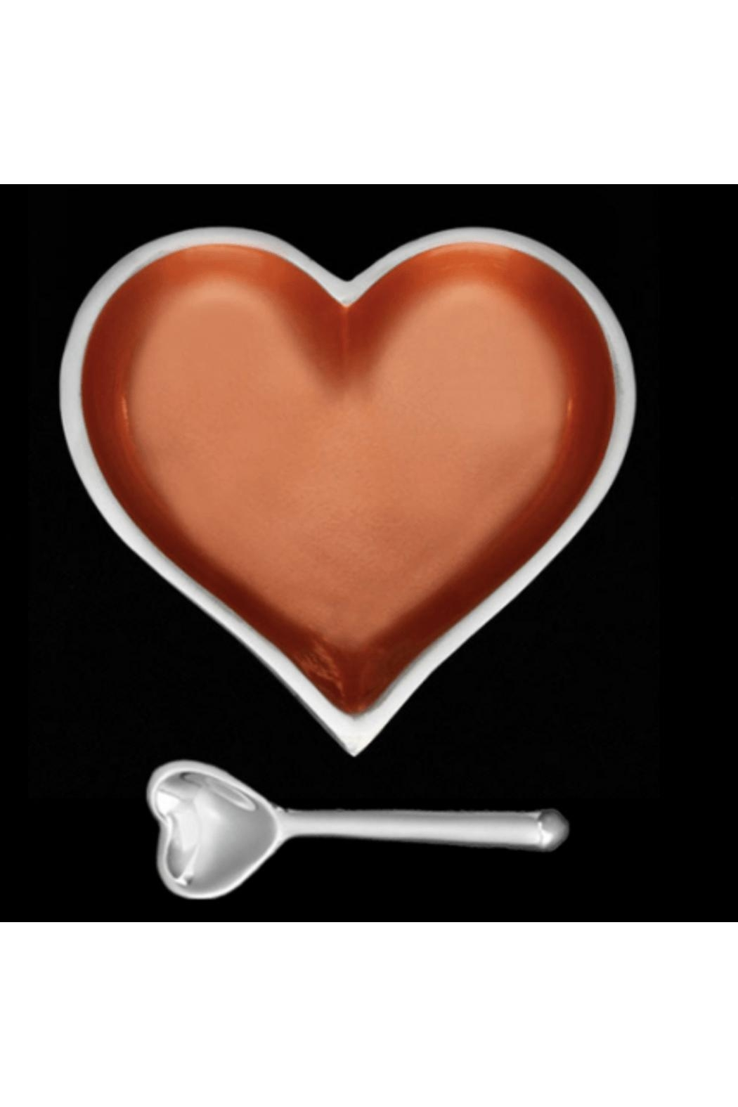 Inspired Generations Copper Heart With Spoon - Main Image
