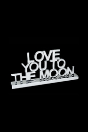 Inspired Generations Love You To The Moon Standee - Product Mini Image