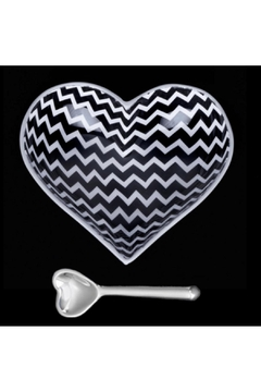 Shoptiques Product: Zig Zag Heart With Spoon