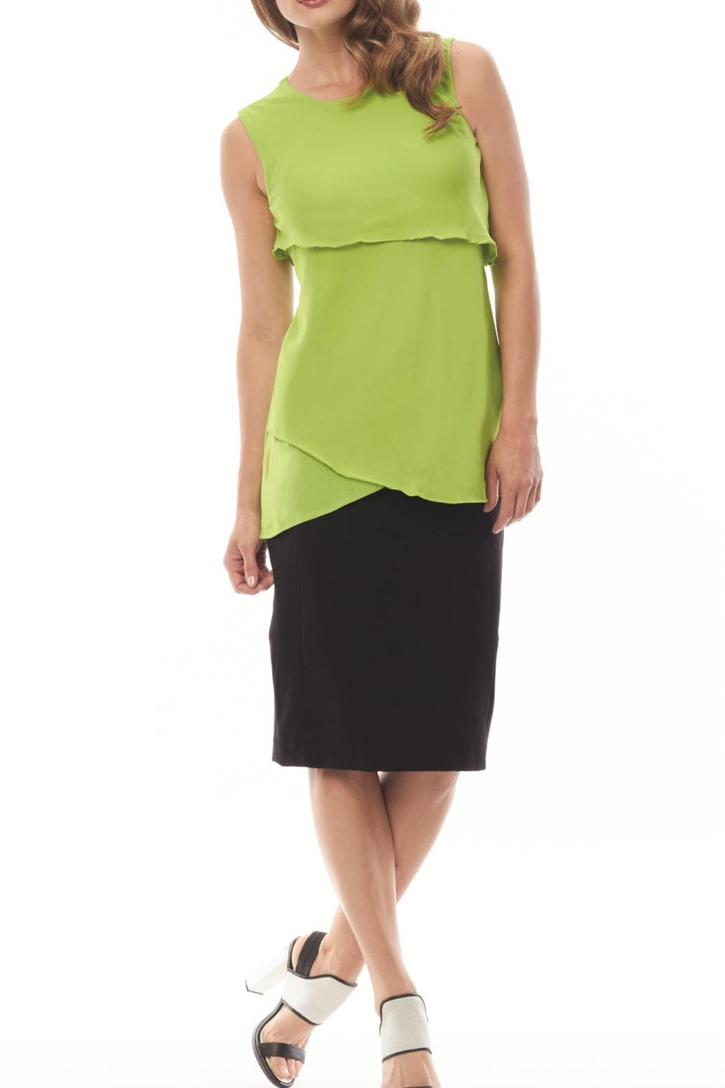 Inspired Style/Spanner Lime Green Tunic - Main Image