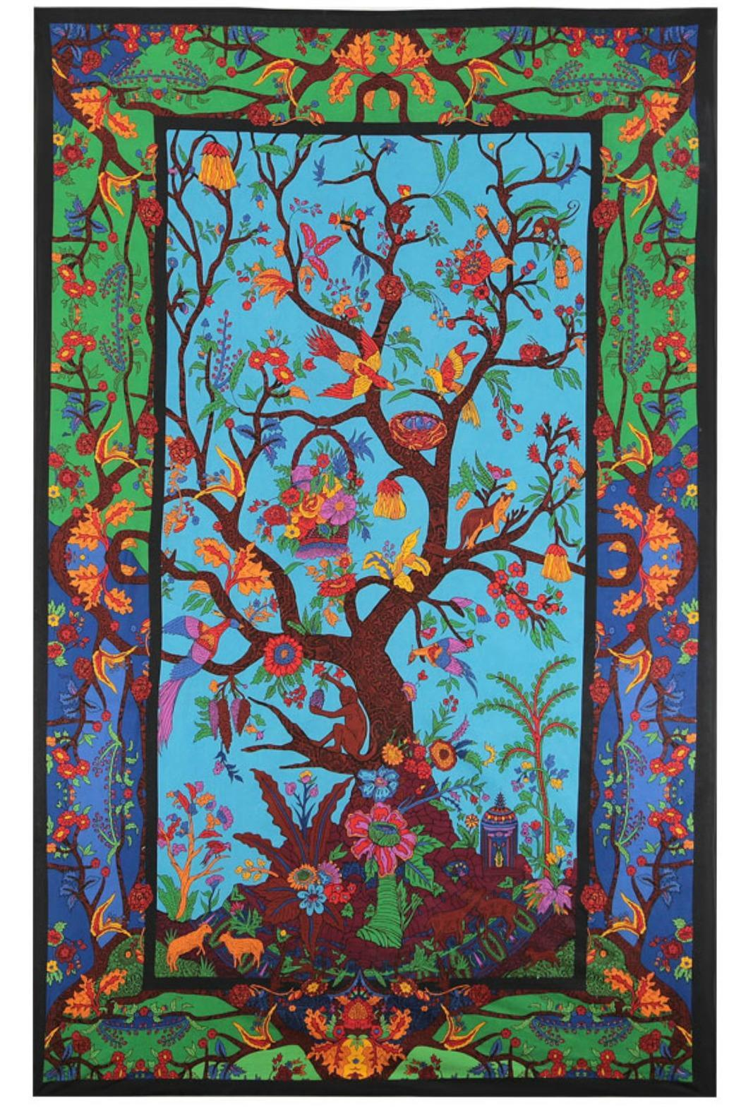 Sunshine Joy Beautiful 3d Tapestry - Front Cropped Image