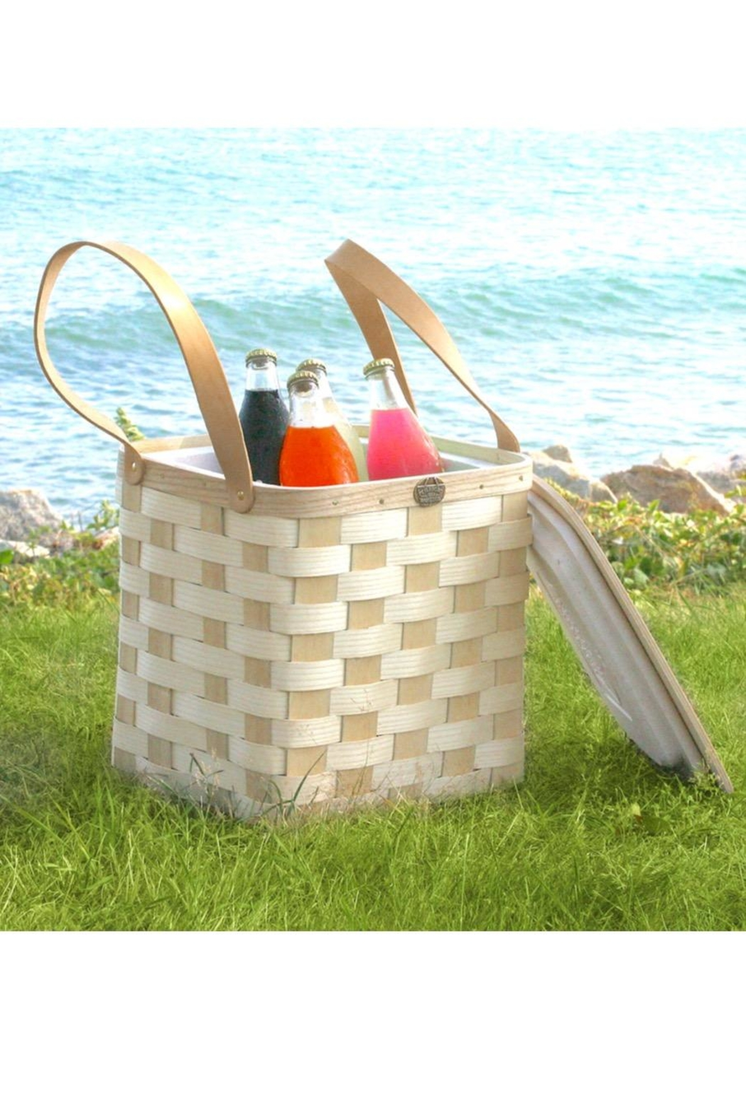 Peterboro Basket Company Insulated Picnic Cooler - Front Cropped Image