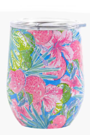 Lilly Pulitzer  Insulated Stemless Tumbler - Front cropped