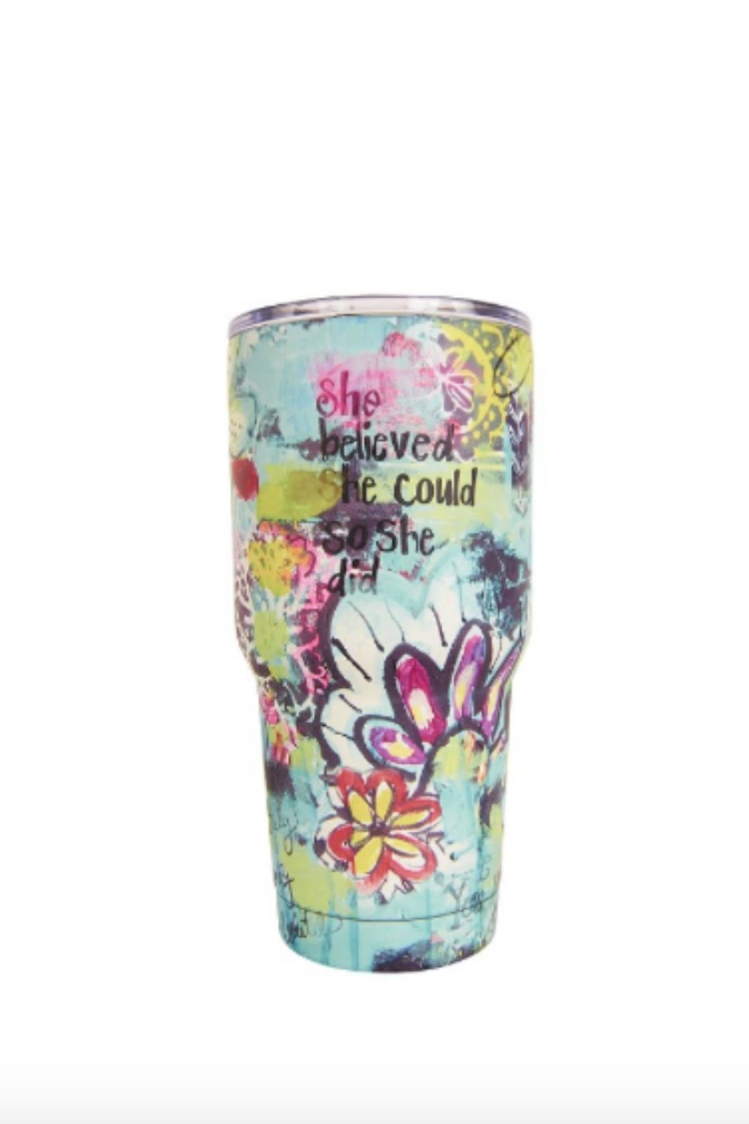 bops Insulated Tumbler Bottle - Front Cropped Image
