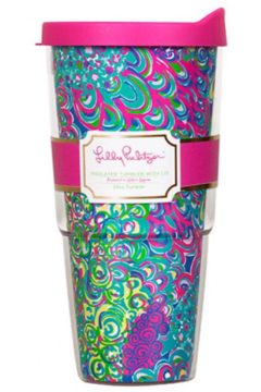 Lilly Pulitzer Insulated Tumbler with Lid (24oz) - Product List Image