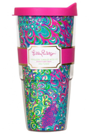 Lilly Pulitzer Insulated Tumbler with Lid (24oz) - Product Mini Image