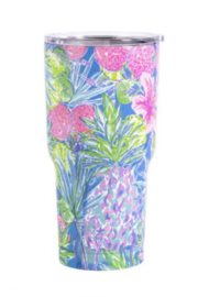 Lilly Pulitzer  Insulated Tumbler with Lid 30oz - Product Mini Image