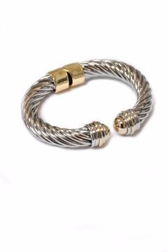 Shoptiques Product: Bold Two Tone Bracelet