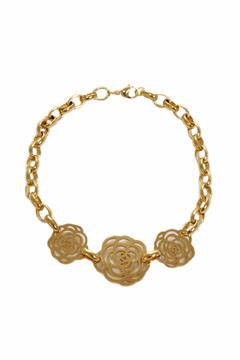 Shoptiques Product: Three Rose Necklace