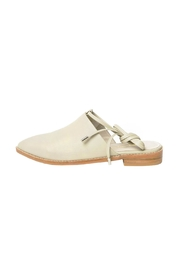 Intentionally Blank Tactic Leather Mule Shoes - Front cropped