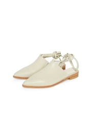Intentionally Blank Tactic Leather Mule Shoes - Front full body