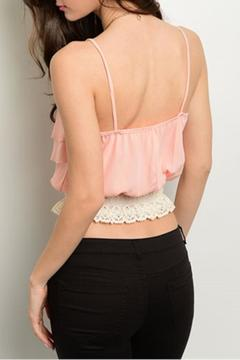 Shoptiques Product: Peach Layers Top