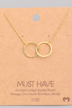 Must Have Interlock Circle Necklace - Product List Image