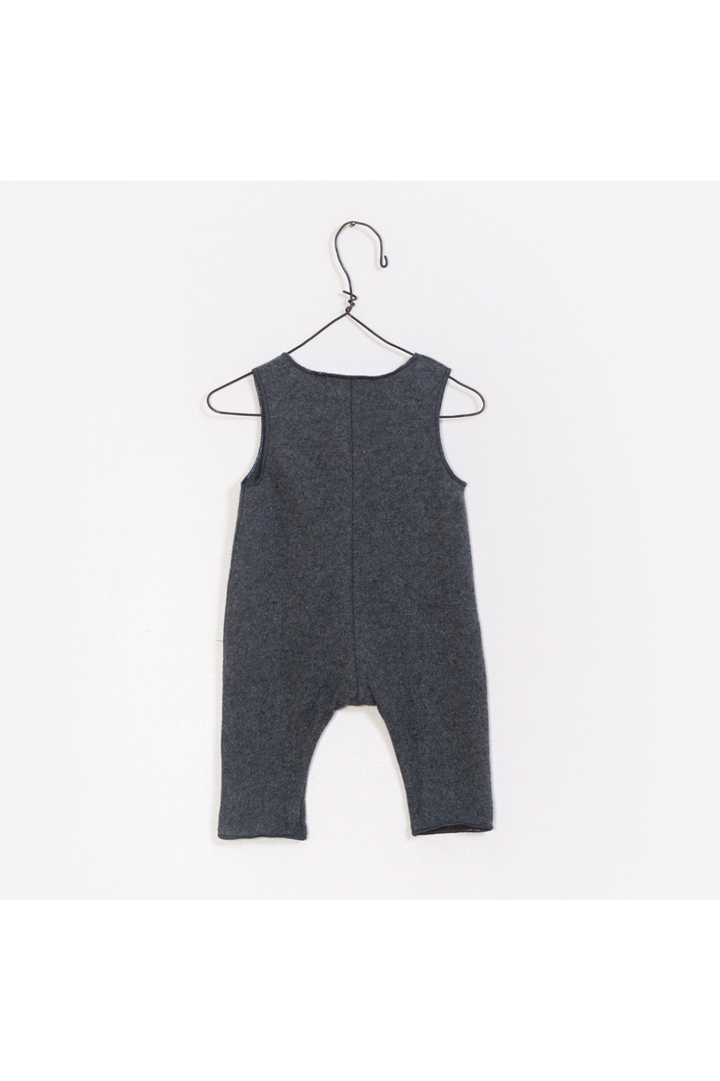 Play Up Interlock Jumpsuit - Front Full Image