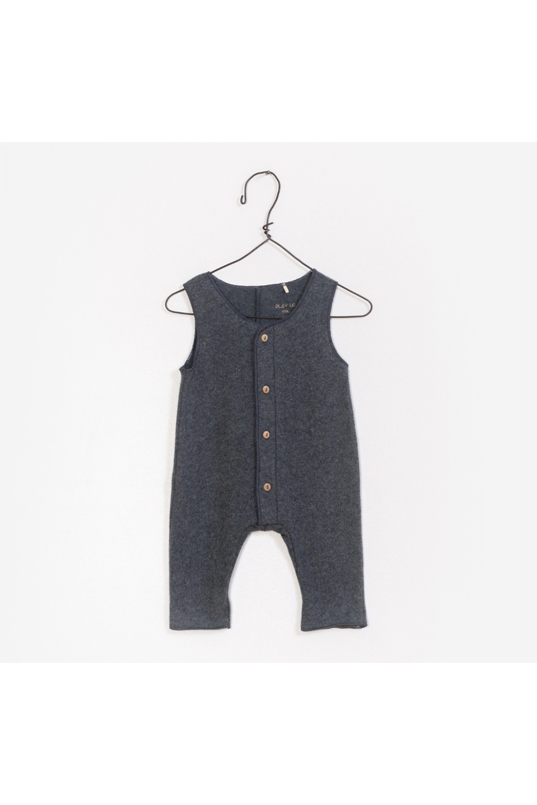 Play Up Interlock Jumpsuit - Front Cropped Image