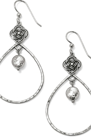 Brighton Interlok Knot Loop French Wire Earrings #JA4950 1137 - Front cropped